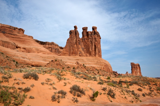 The Gossips in Arches National Park