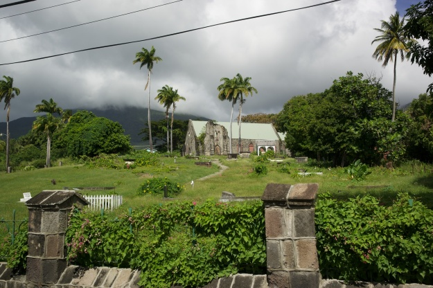 Old Anglican church on St. Kitts.