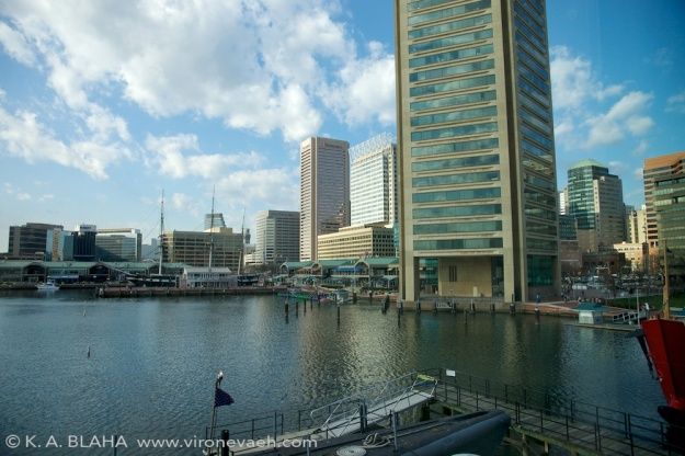 Baltimore waterfront.