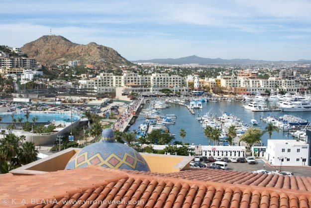 Cabo san Lucas waterfront.