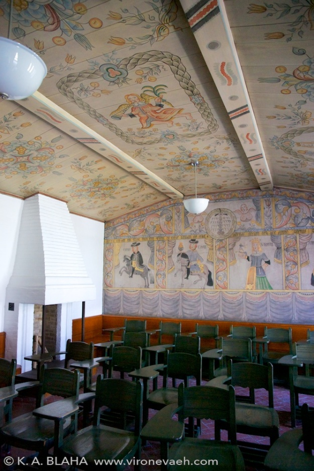 The Swedish room, dedicated in 1938.