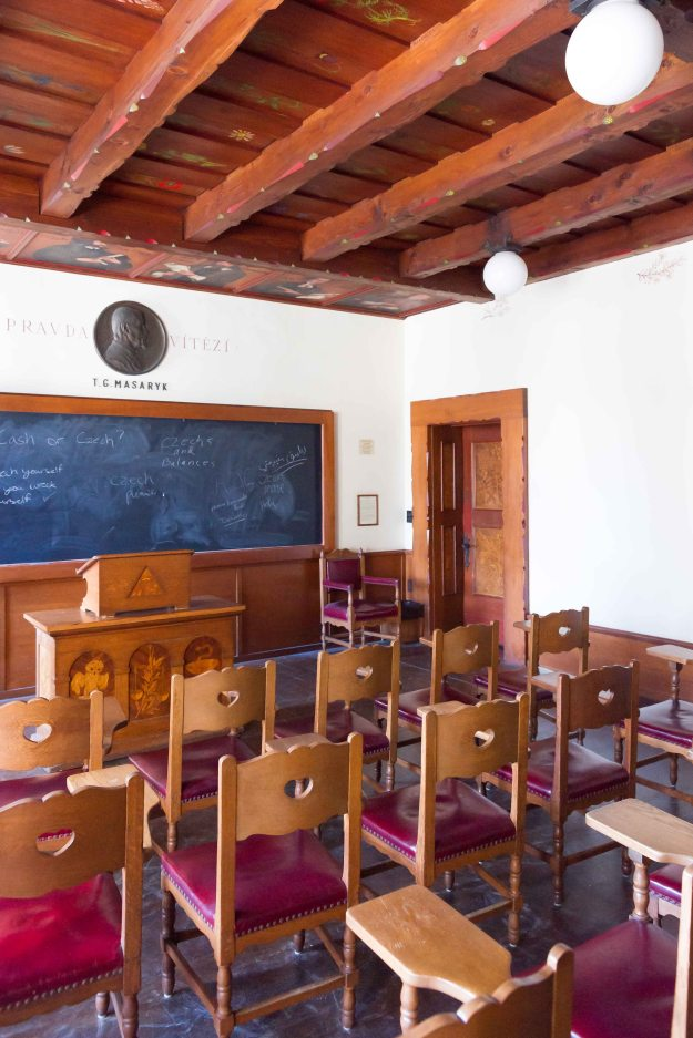 The Czechoslovak Classroom, dedicated in 1939.