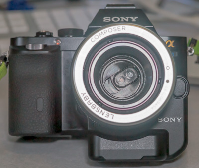 Lenbaby pinhole on Sony Alpha 7s.