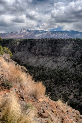 Sangre de Cristo Mountains in Rio Grande del Norte National Monument