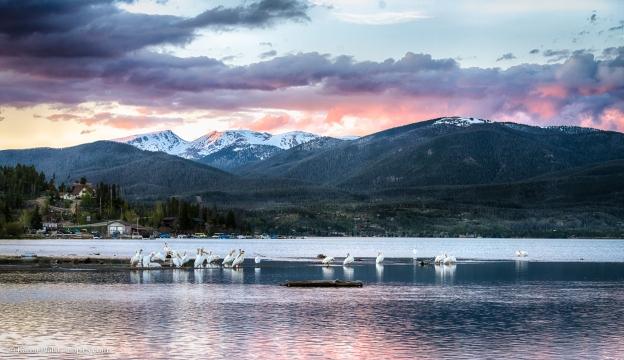 Sunset at Grand Lake, Colorado